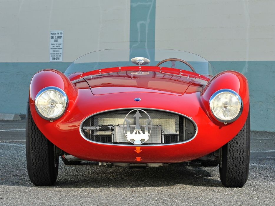 1953 Maserati A6G C-S Fantuzzi race racing supercar supercars retro   fs wallpaper