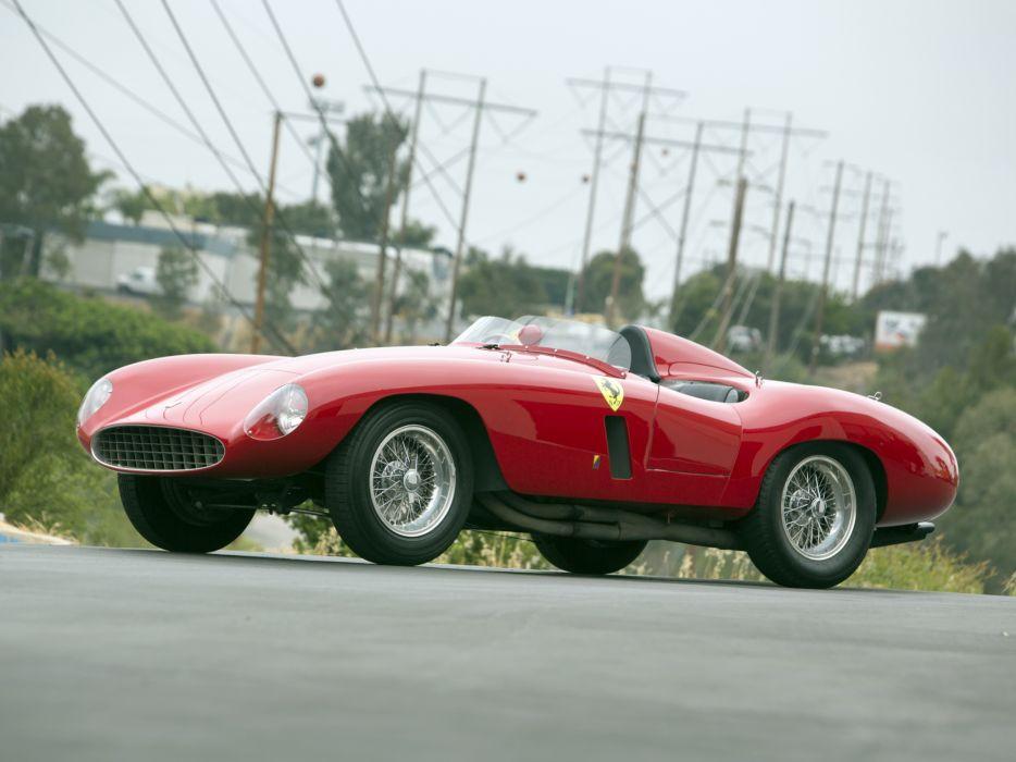 1954 Ferrari 750 Monza supercar supercars retro f wallpaper
