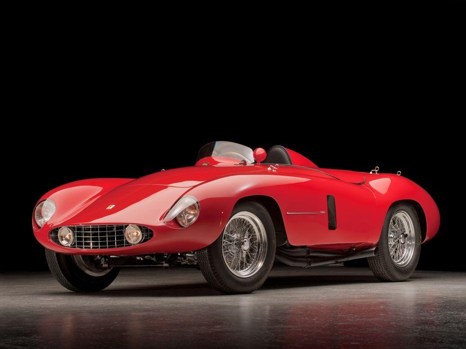 1954 Ferrari 750 Monza supercar supercars retro race racing         d wallpaper
