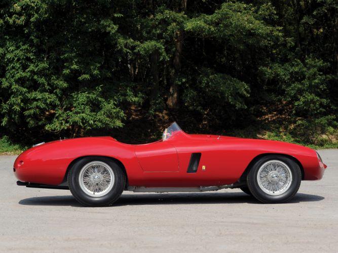 1954 Ferrari 750 Monza supercar supercars retro race racing g wallpaper