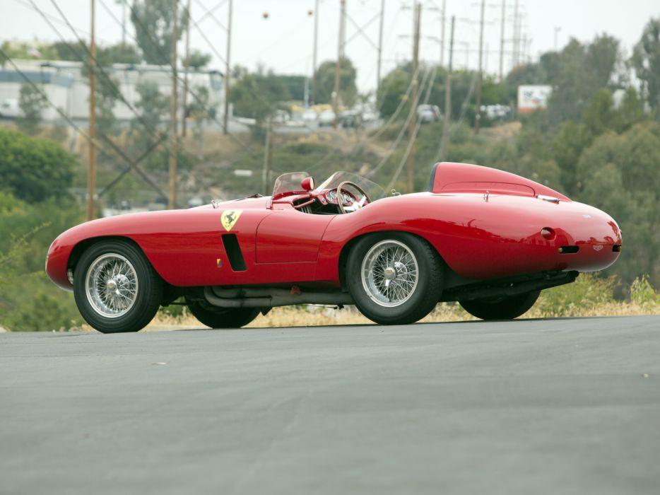 1954 Ferrari 750 Monza supercar supercars retro race racing    f wallpaper