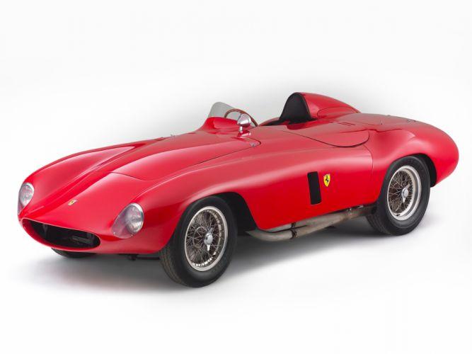 1954 Ferrari 750 Monza supercar supercars retro race racing gg wallpaper