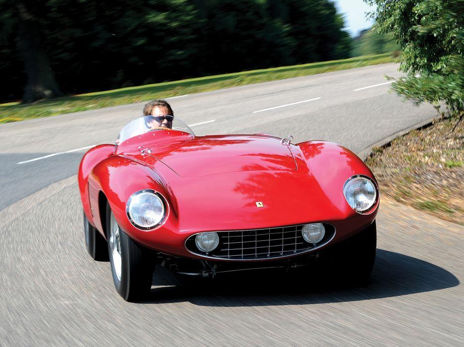 1954 Ferrari 750 Monza supercar supercars retro race racing   fs wallpaper
