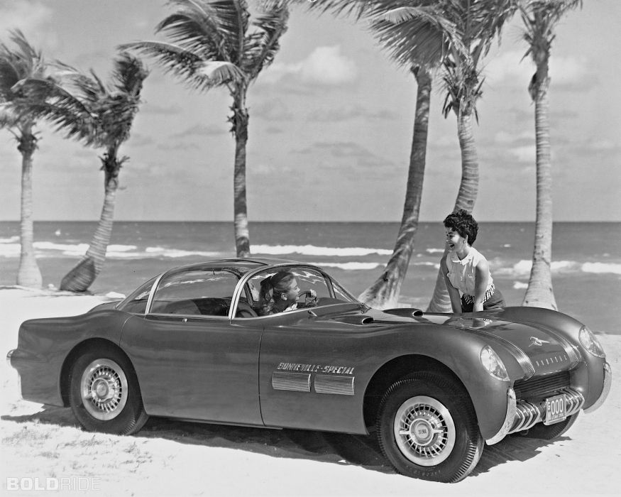 1954 Pontiac Bonneville Special custom retro supercar supercars concept   g wallpaper