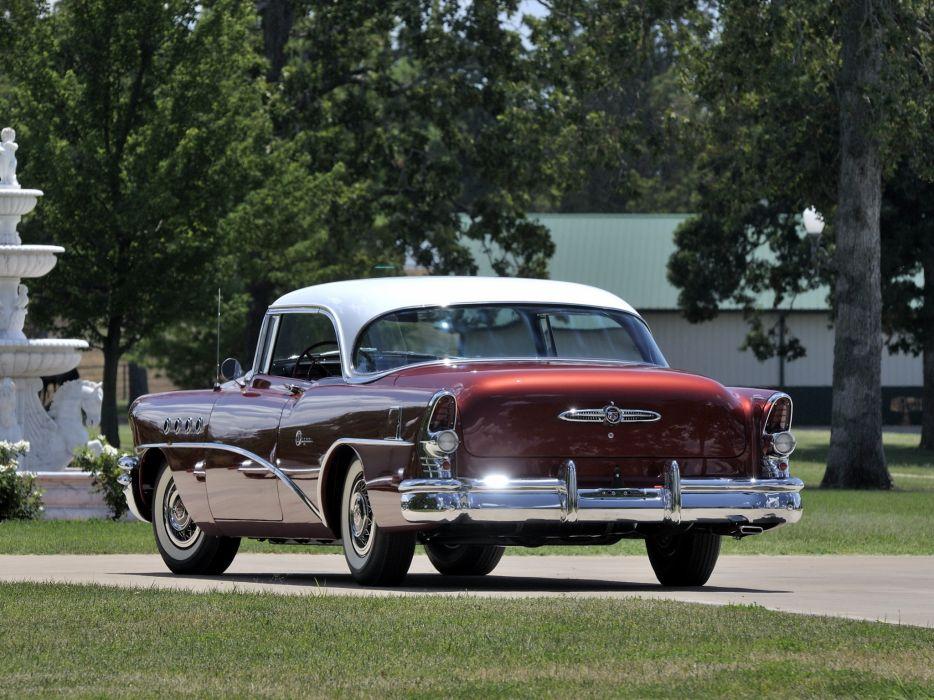 1955 Buick Super Riviera Hardtop Coupe 56R retro     g wallpaper