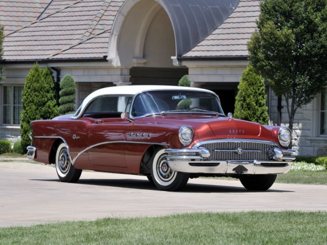 1955 Buick Super Riviera Hardtop Coupe 56R retro h wallpaper