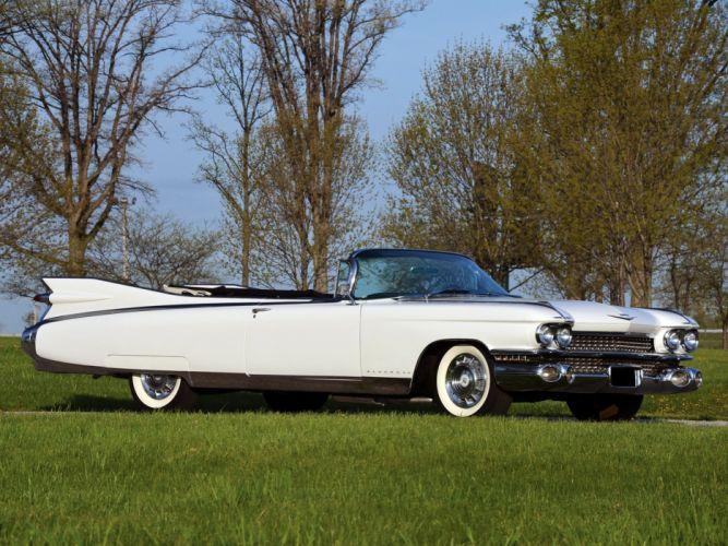 1959 Cadillac Eldorado Biarritz luxury classic convertible g wallpaper