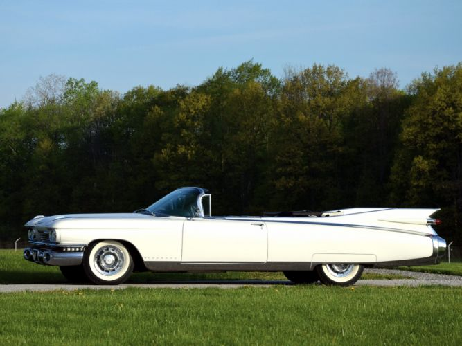 1959 Cadillac Eldorado Biarritz luxury classic convertible ge wallpaper