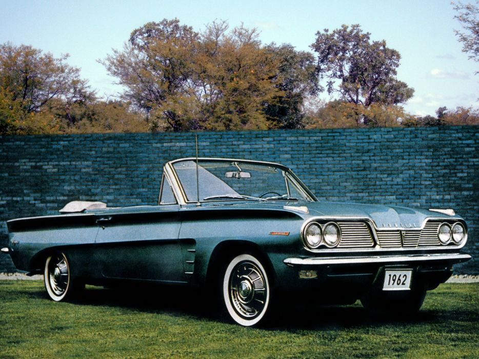 1962 Pontiac Tempest LeMans Convertible classic wallpaper