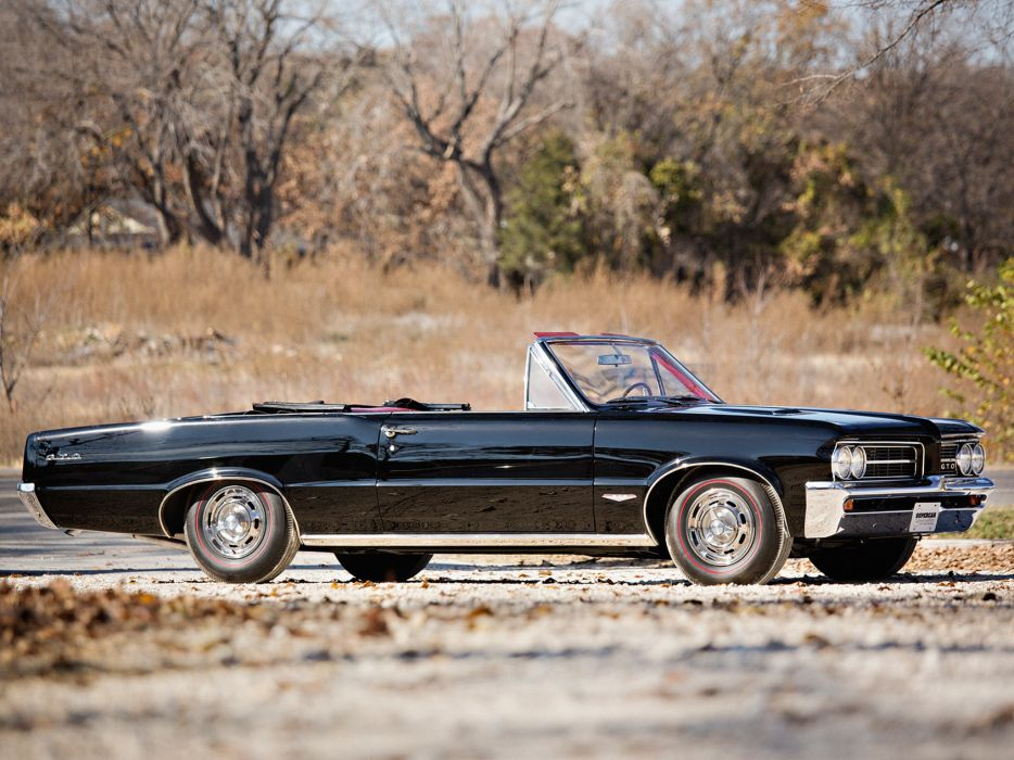 1964 Pontiac Tempest LeMans GTO Convertible muscle classic    g wallpaper