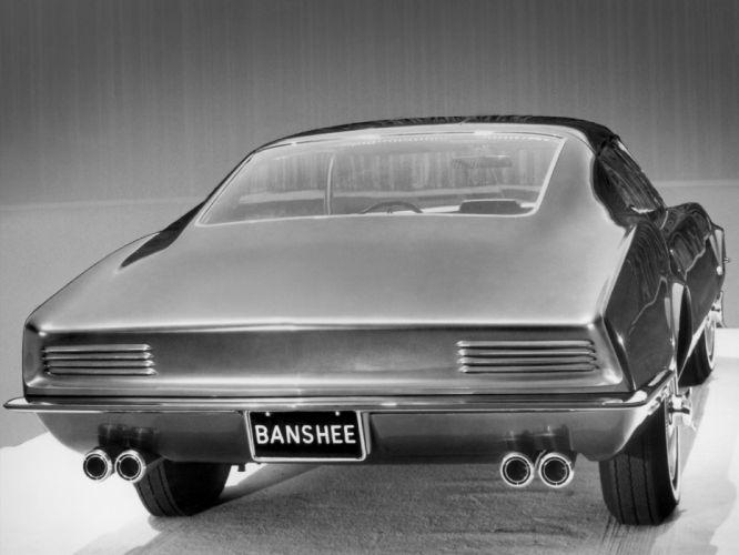 1966 Pontiac Banshee XP-798 Concept supercar supercars muscle classic wallpaper