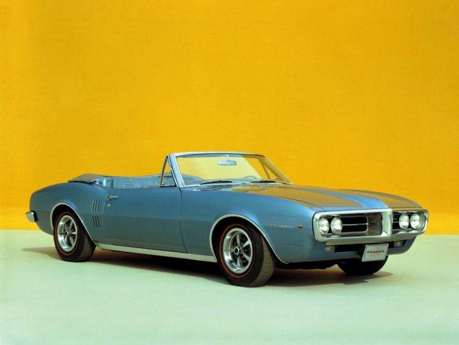 1967 Pontiac Firebird Convertible 22367 muscle classic f wallpaper
