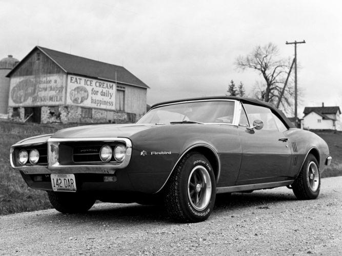 1967 Pontiac Firebird Convertible 22367 muscle classic wallpaper