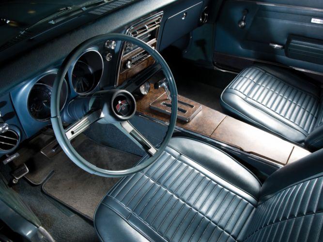 1968 Pontiac Firebird 350 2337 muscle classic interior wallpaper