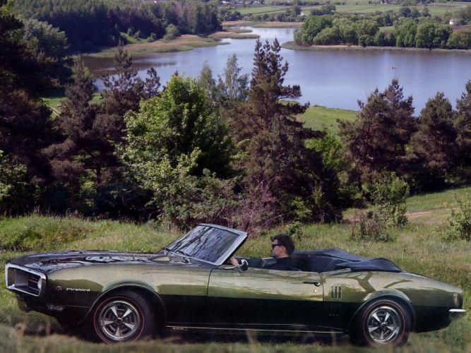1968 Pontiac Firebird Sprint Convertible 2367 muscle classic wallpaper