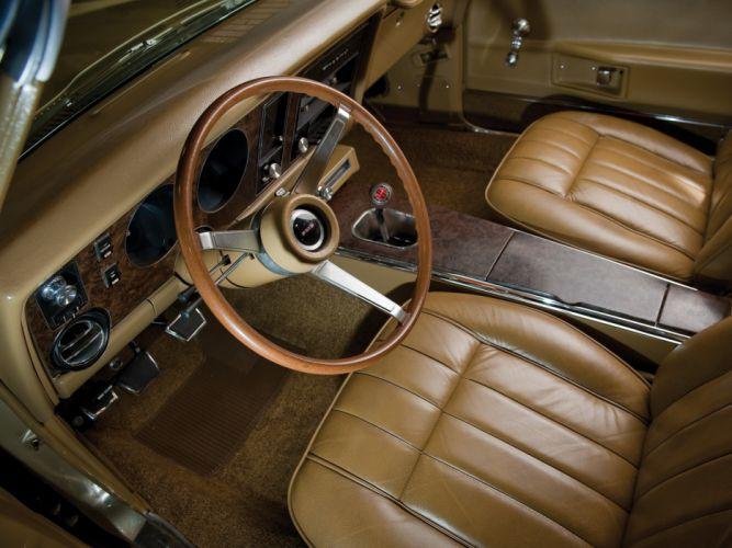 1969 Pontiac Firebird 400 Convertible 2367 muscle classic interior wallpaper