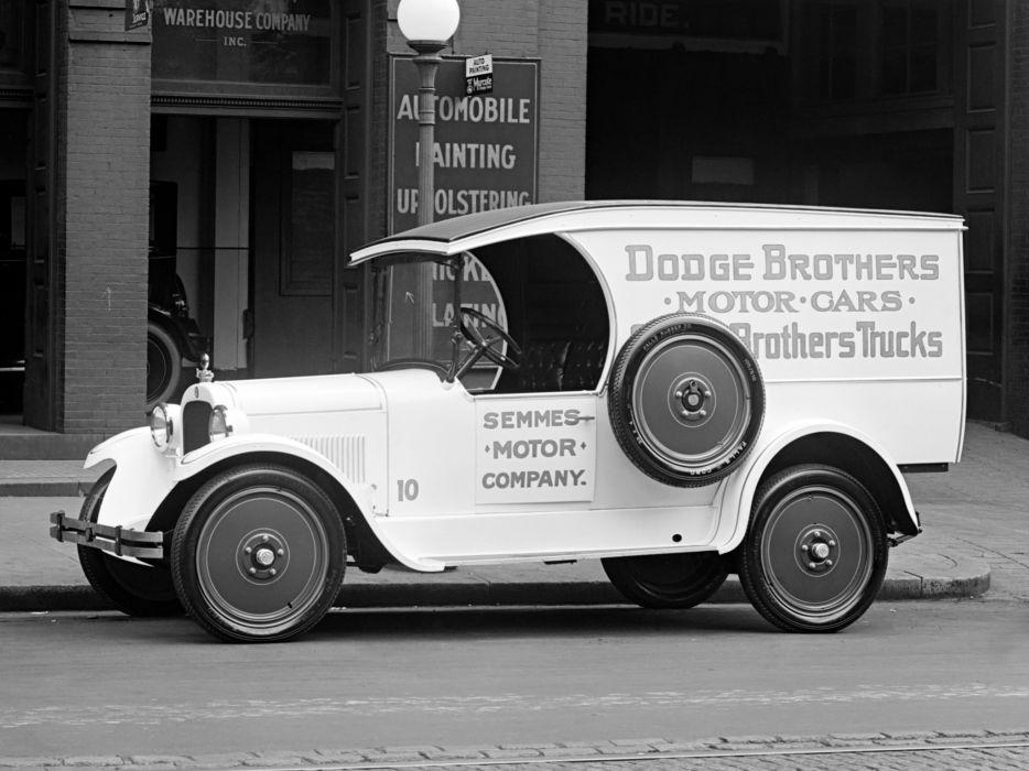 1924 Dodge Brothers Truck retro delivery    f wallpaper