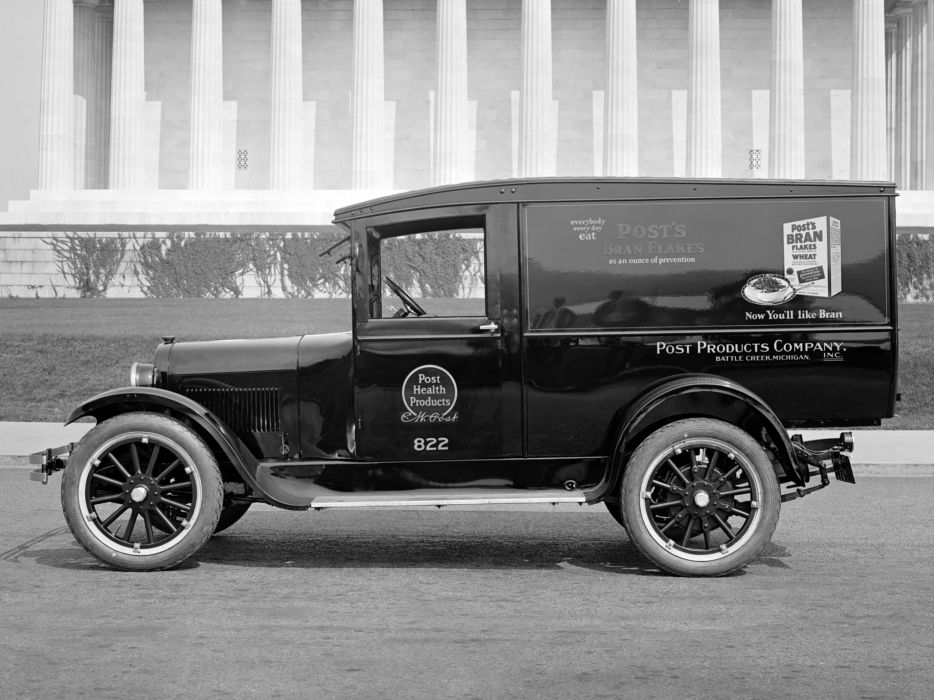 1924 Dodge Brothers Truck retro delivery wallpaper