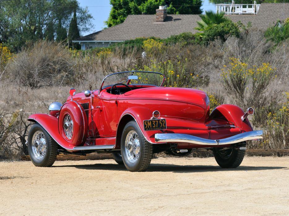 1933 Auburn V12 Speedster retro    f wallpaper