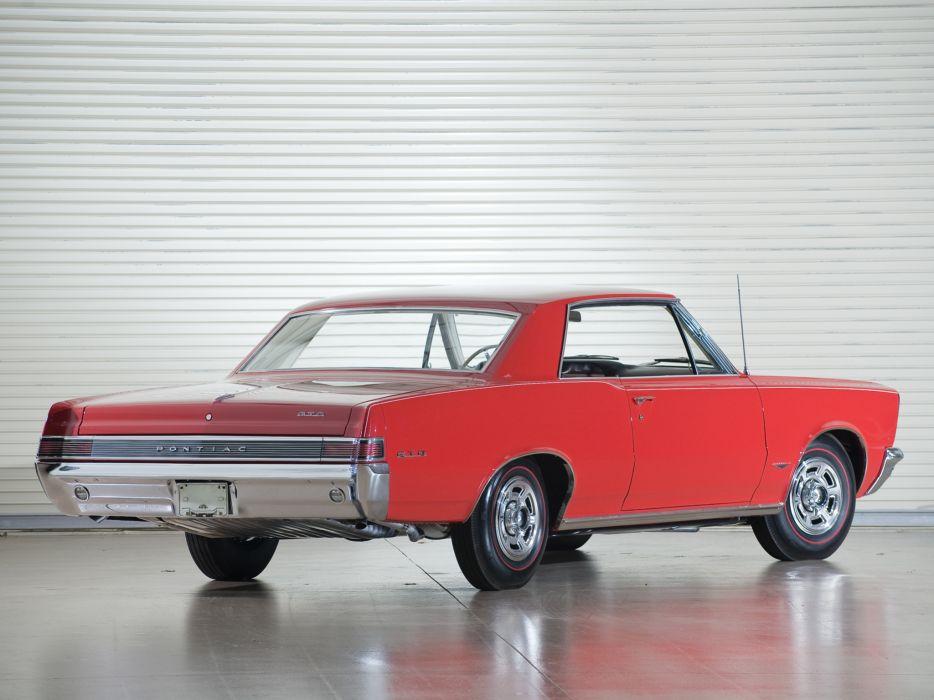 1965 Pontiac Tempest LeMans GTO Hardtop Coupe muscle classic     v wallpaper