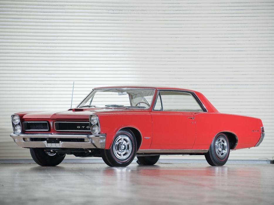 1965 Pontiac Tempest LeMans GTO Hardtop Coupe muscle classic    h wallpaper
