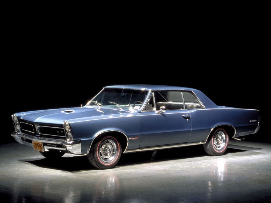 1965 Pontiac Tempest LeMans GTO Hardtop Coupe muscle classic    gd wallpaper