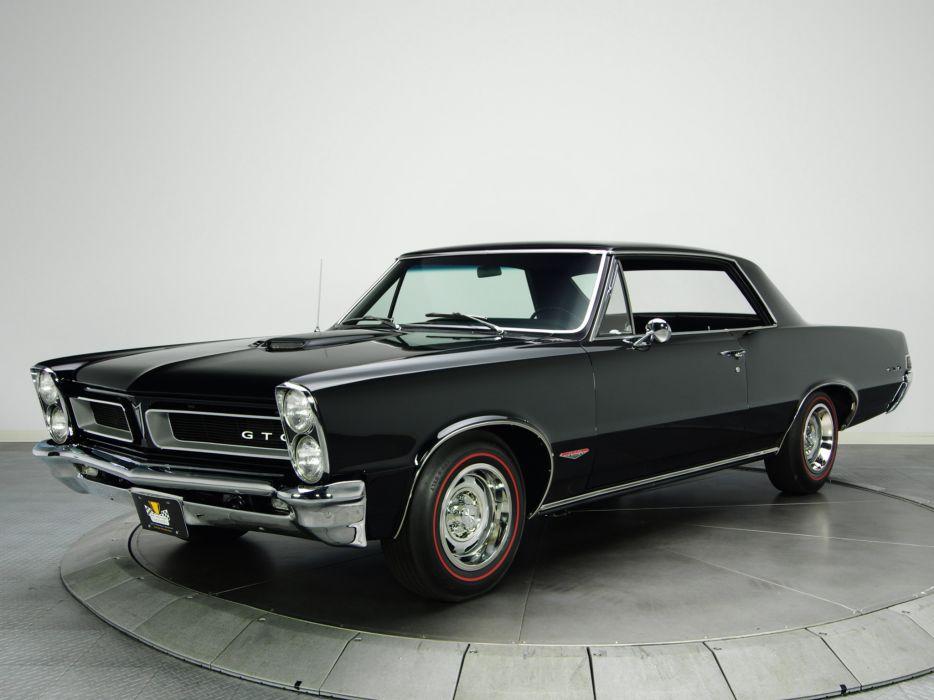1965 Pontiac Tempest LeMans GTO Hardtop Coupe muscle classic    g wallpaper