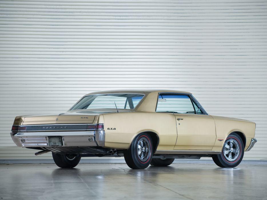 1965 Pontiac Tempest LeMans GTO Hardtop Coupe muscle classic   n wallpaper