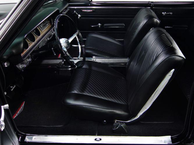 1965 Pontiac Tempest LeMans GTO Hardtop Coupe muscle classic interior wallpaper
