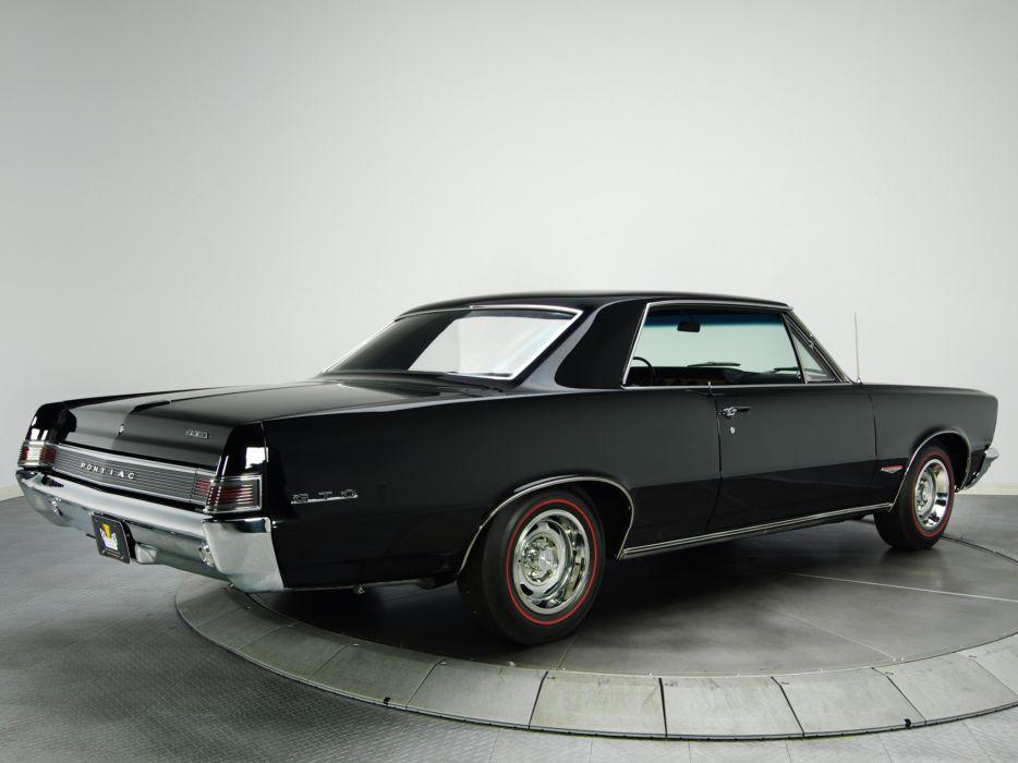1965 Pontiac Tempest LeMans GTO Hardtop Coupe muscle classic  gw wallpaper