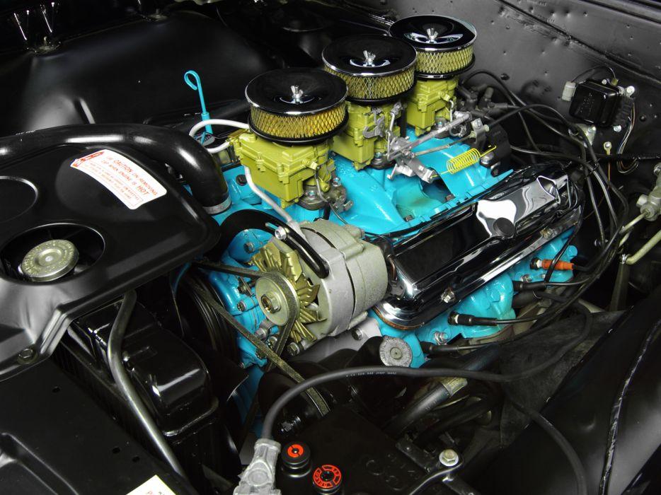 1965 Pontiac Tempest LeMans GTO Hardtop Coupe muscle classic engine engines wallpaper