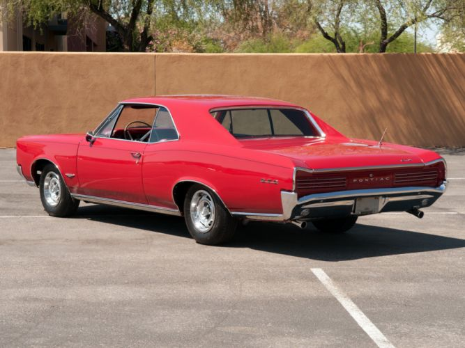 1966 Pontiac Tempest GTO Hardtop Coupe muscle classic g wallpaper