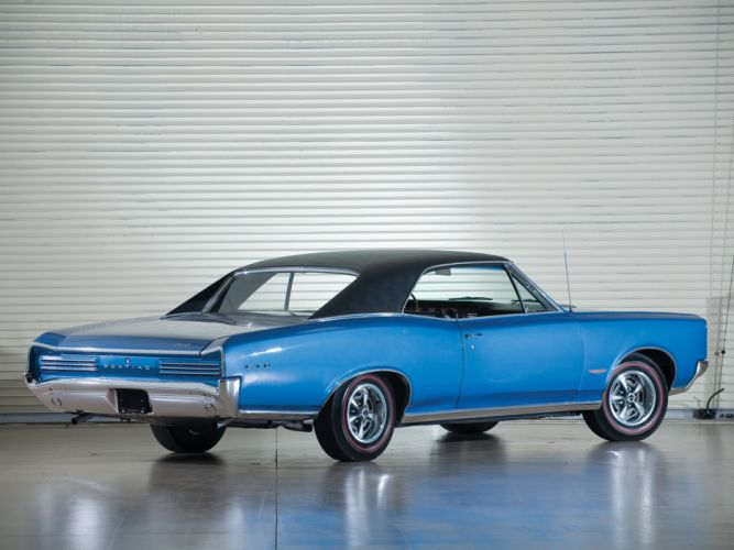 1966 Pontiac Tempest GTO Hardtop Coupe muscle classic gs wallpaper