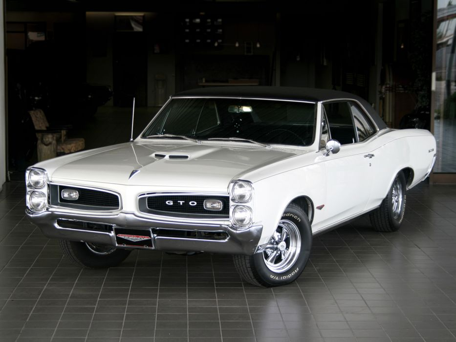 1966 Pontiac Tempest GTO Hardtop Coupe muscle classic  f wallpaper