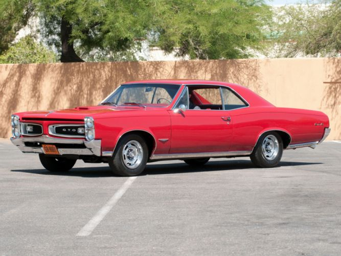 1966 Pontiac Tempest GTO Hardtop Coupe muscle classic h wallpaper