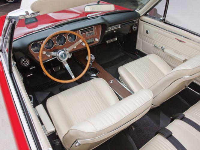 1967 Pontiac Tempest GTO Convertible muscle classic interior wallpaper