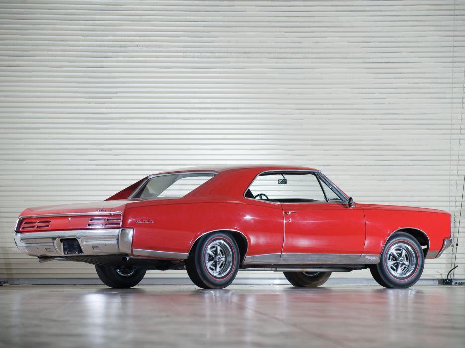 1967 Pontiac Tempest GTO Hardtop Coupe muscle classic  d wallpaper