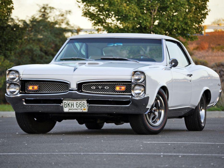 Pontiac Gto Old Muscle Cars