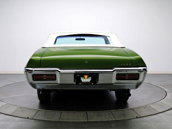 1968 Pontiac GTO Convertible 4267 muscle classic g wallpaper