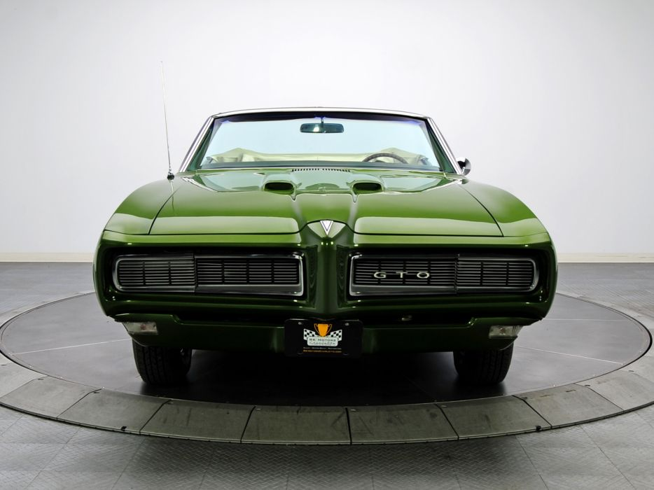 1968 Pontiac GTO Convertible 4267 muscle classic wallpaper