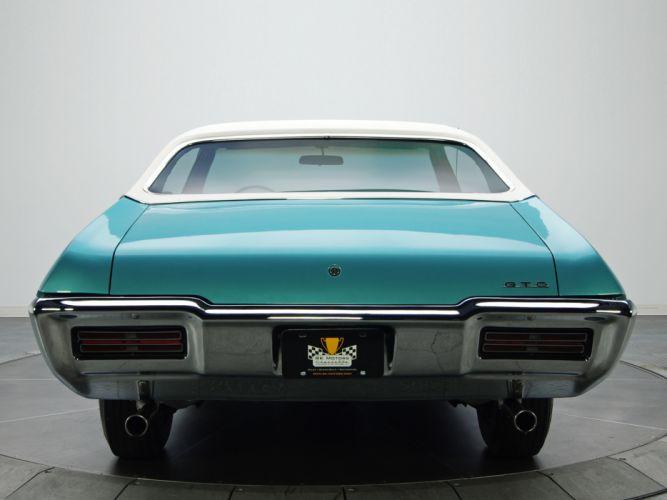 1968 Pontiac GTO Hardtop Coupe 4237 muscle classic ge wallpaper