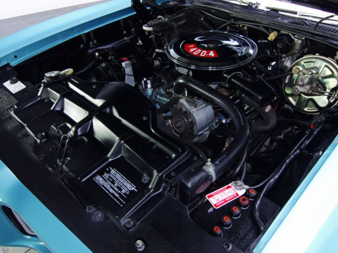 1968 Pontiac GTO Hardtop Coupe 4237 muscle classic engine engines wallpaper