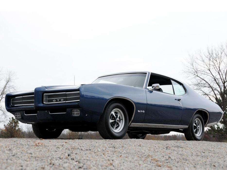 1969 Pontiac GTO Hardtop Coupe 4237 muscle classic     g wallpaper