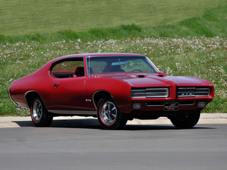 1969 Pontiac GTO Hardtop Coupe 4237 muscle classic    h wallpaper