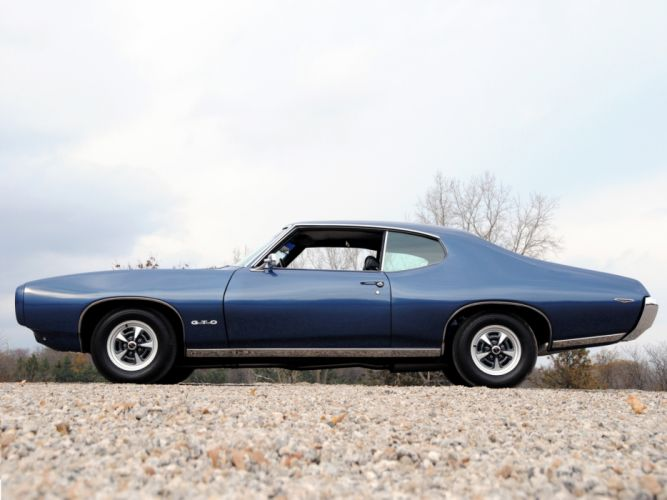 1969 Pontiac GTO Hardtop Coupe 4237 muscle classic n wallpaper
