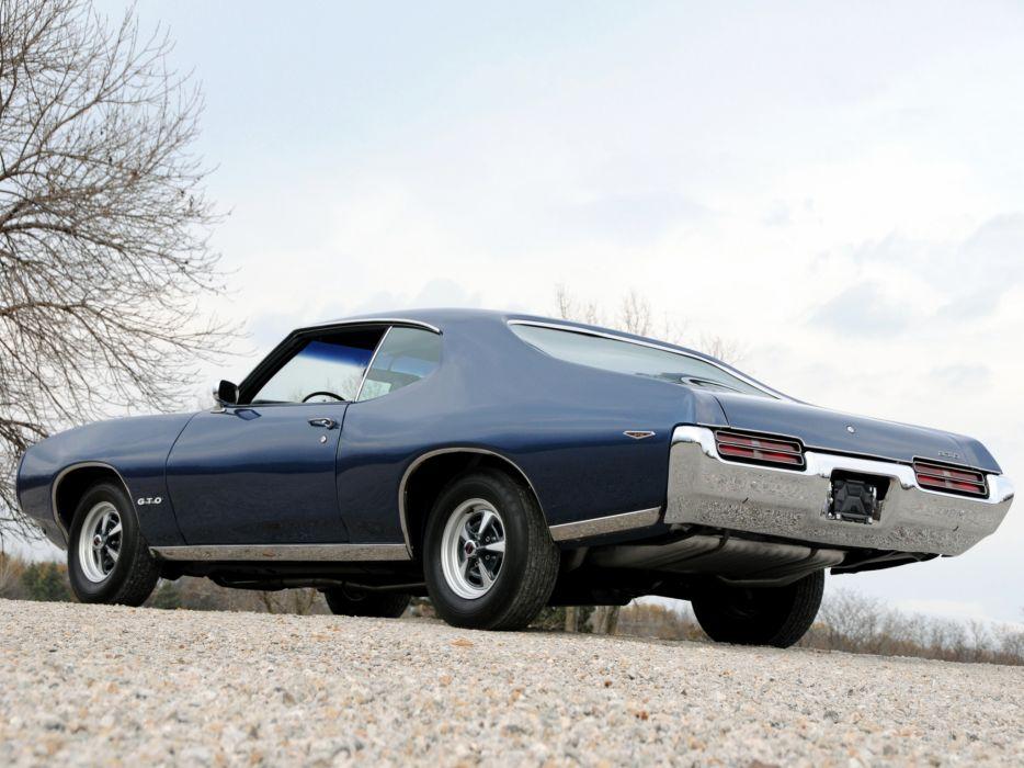 1969 Pontiac GTO Hardtop Coupe 4237 muscle classic    hd wallpaper