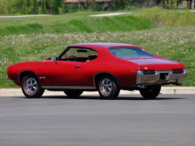 1969 Pontiac GTO Hardtop Coupe 4237 muscle classic hz wallpaper