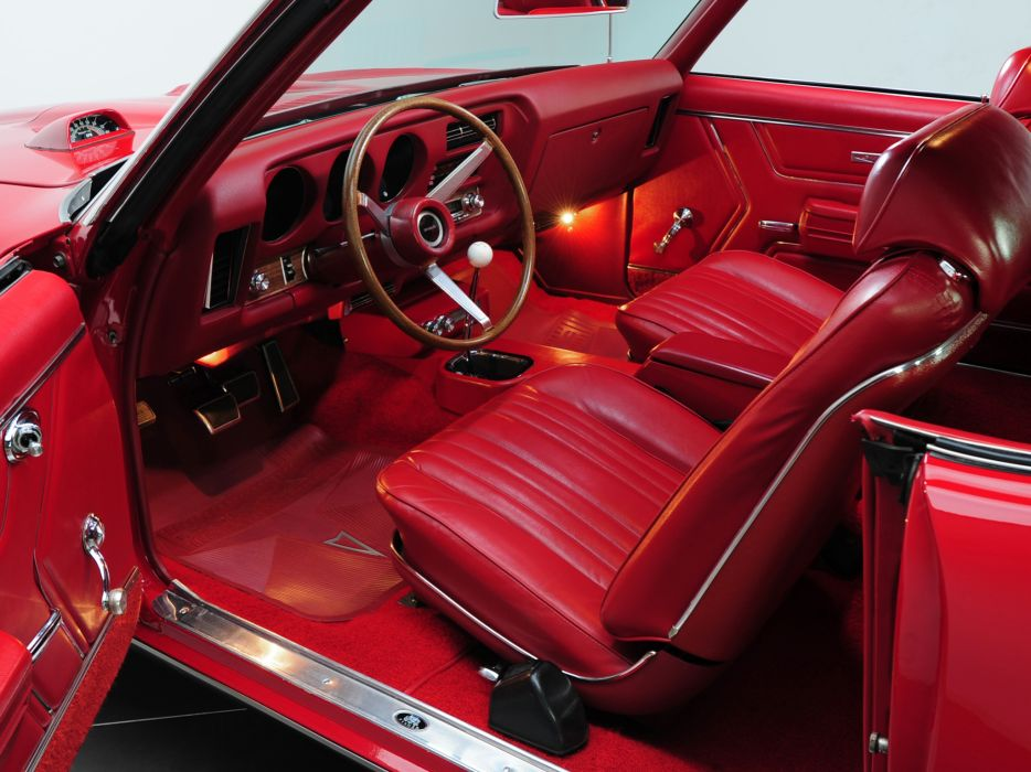 1969 Pontiac GTO Hardtop Coupe 4237 muscle classic interior wallpaper