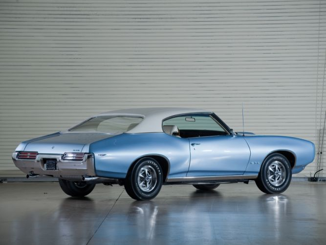 1969 Pontiac GTO Hardtop Coupe 4237 muscle classic gd wallpaper
