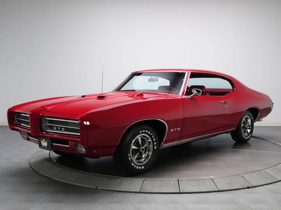 1969 Pontiac GTO Hardtop Coupe 4237 muscle classic wallpaper